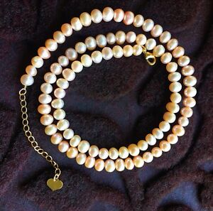 Hand Made Freshwater Pearl Necklace/ Bracelet