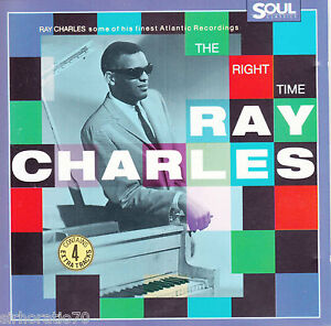 RAY-CHARLES-The-Right-Time-CD-New-20-Tracks