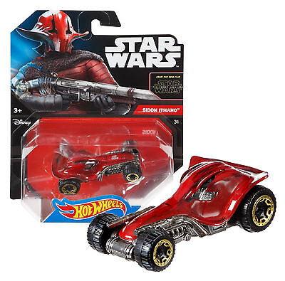 Hot Wheels Star Wars Sidon Ithano The Force Awakens New in Package
