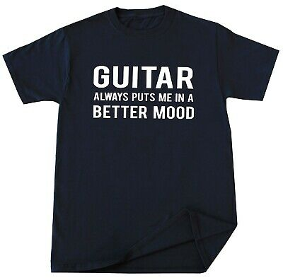 Guitar Player T Shirt Funny Music Guitar Lover Birthday Christmas Gift Idea Tee ()