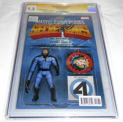 Secret Wars Journal #1 CGC SS 9.8 Signature Autograph STAN LEE Action Figure VAR