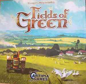 NEW 2016 Fields Of Green Artipia Games Board Game Wakerley Brisbane South East Preview