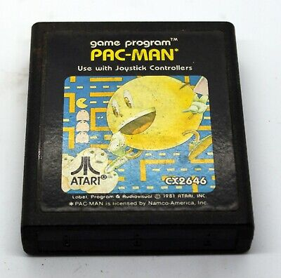 Classic ATARI 2600 GAME! Pac-Man! FREE SHIPPING!