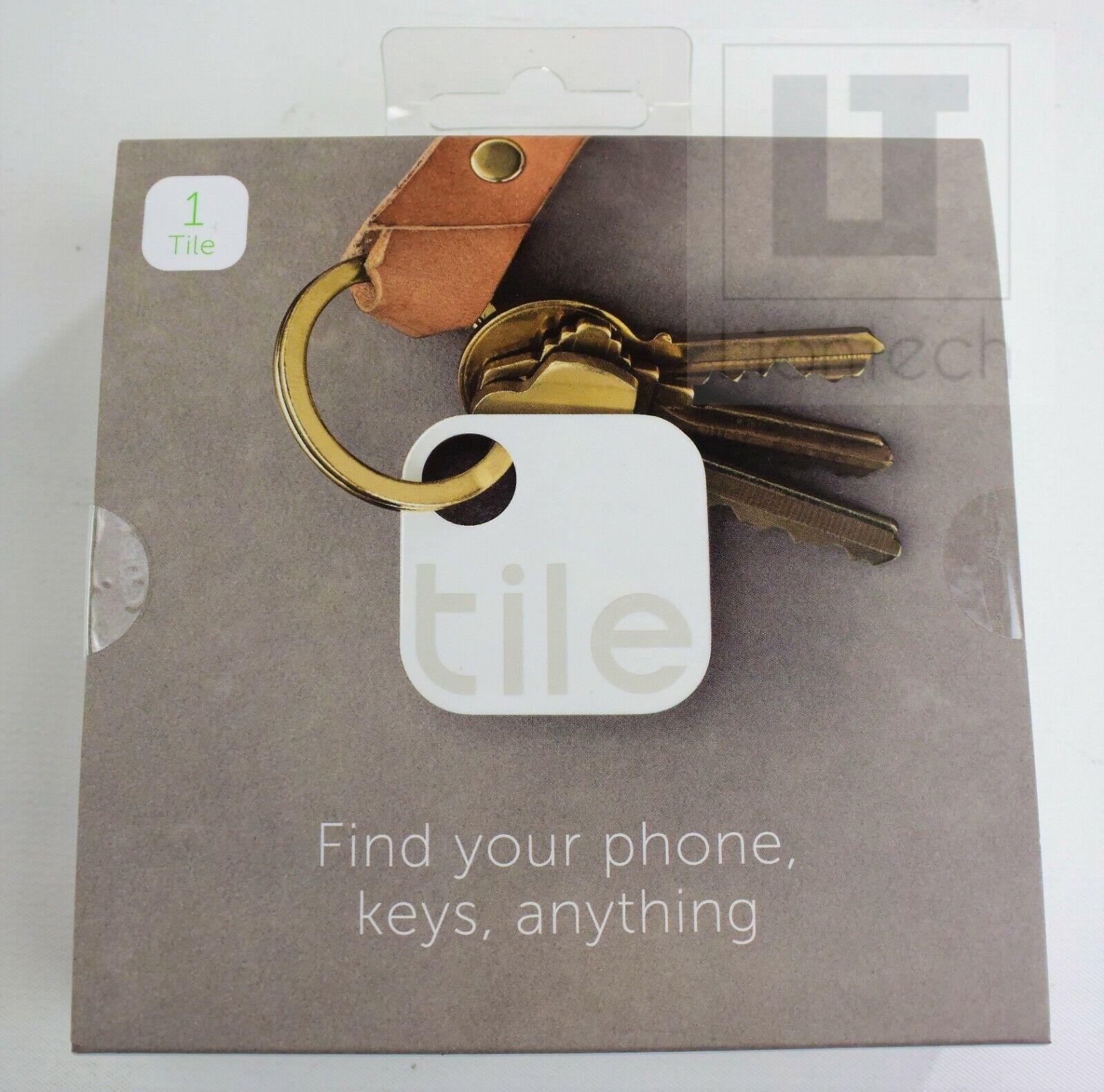 Tile  - Key Finder. Phone Finder. Anything Finder - 1 Pack