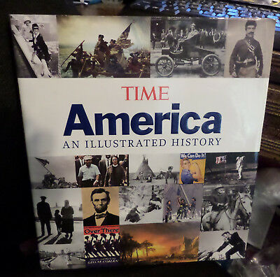 Time America an Illustrated History Over 500 photographs coffee table edition