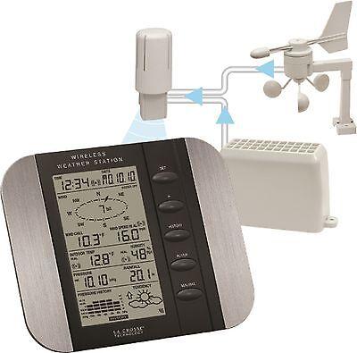WS-1610U-IT La Crosse Technology Professional Weather Station Wind Rain CLOSEOUT