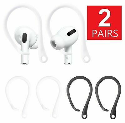 2-Pairs Silicone Sports Anti-lost Ear Hook For AirPods Strap Earhook Holder Cell Phone Accessories