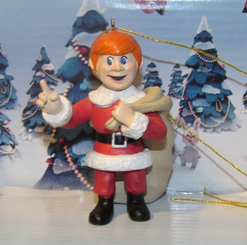 Santa Claus is Coming to Town by Rankin and Bass Young Kriss Kringle Ornament