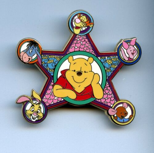 Disney Auctions 80th Winnie the Pooh Eeyore Piglet Tigger Roo LE 100 Pin 49200