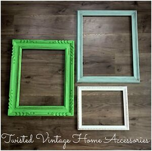 Hand Painted Shabby Chic Frames