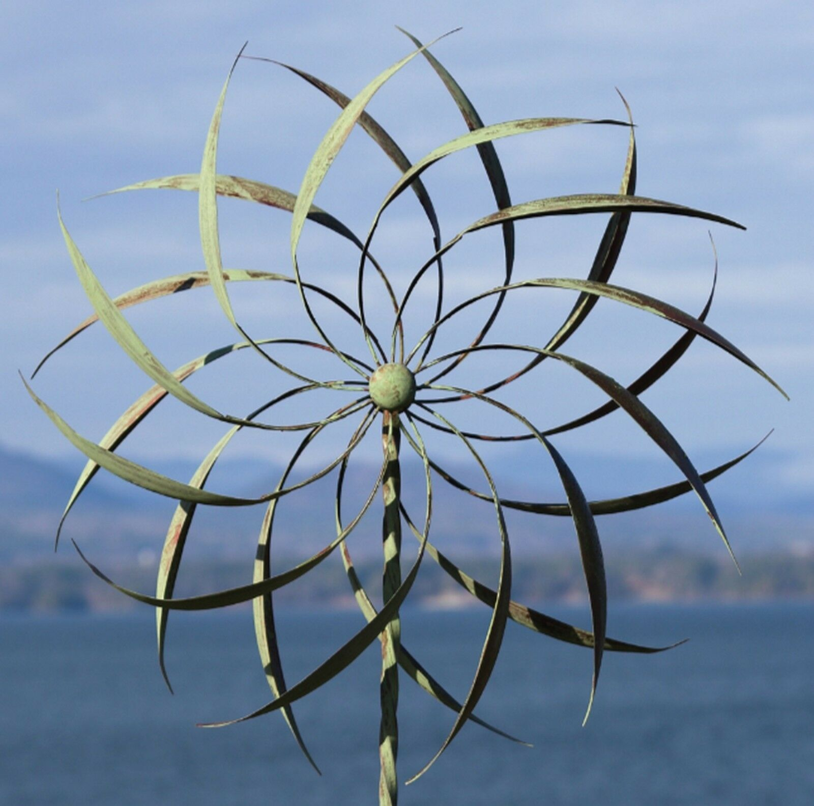 wind spinner - garden spinner wind catcher windmill yard decor