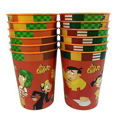 El Chavo 16oz Plastic Reusable Party Cups Party Favors - 16 Oz Cups