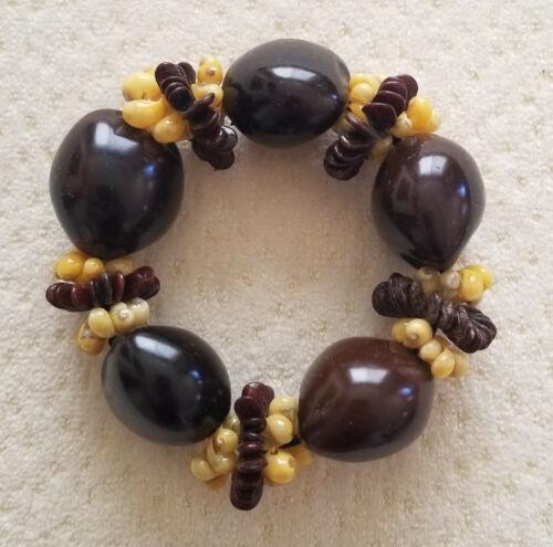 Hawaiian Kukui Nut Stretch Bracelet Mungo