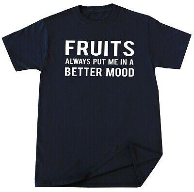 Fruits Lover T-shirt Funny Vegetarian Vegan Fruit Eater Humor Gift Idea Mens ()