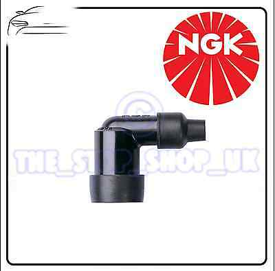 1x NGK Resistor Spark Plug Cap Part Number LZFH BLACK Stock Number 8710