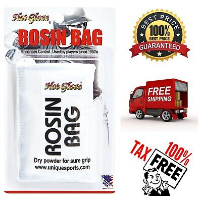 Baseball Softball Rosin Bag Resealable Pouch Professional Grade Dry Rosin Grip