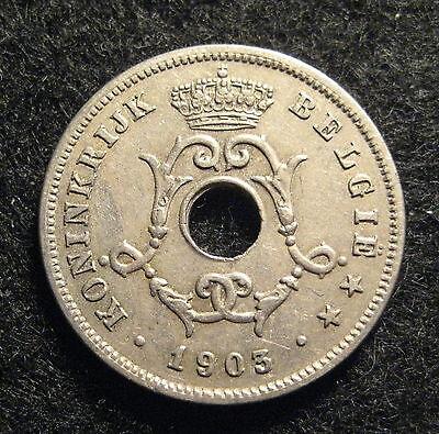 1903  Belgium 10 Centimes  - * No Reserve * - (Q515)