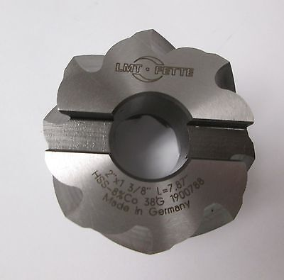 "8% Premium Cobalt Shell End Mill, 2-1/2"" Diameter"