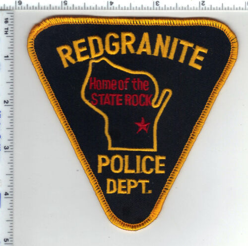 Redgranite Police (Wisconsin) 1st Issue Shoulder Patch