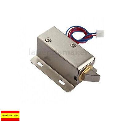 Cerradura Eléctrica de puerta 12V DC Solenoide Electromagnético arduino M0218