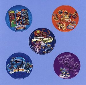 15 Skylanders Giants - Large Stickers - Party Favors
