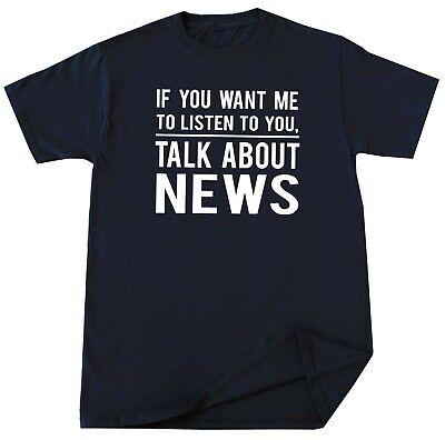 Funny News Reporter T Shirt Humor Birthday Christmas Gift News Meme Media Tee ()