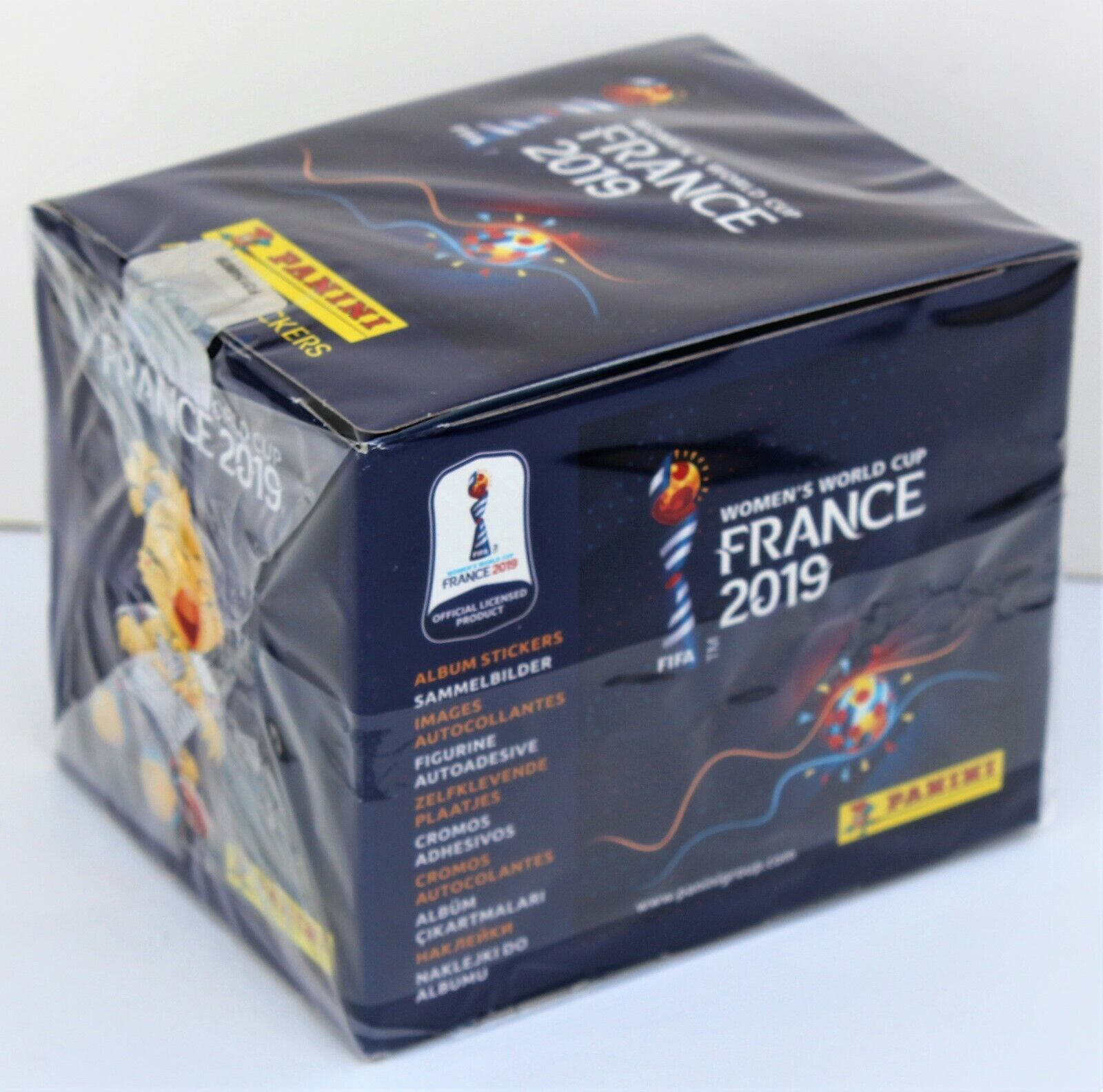 Panini Women´s World Cup 2019 France - sealed box 50 packs of stickers