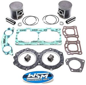 Yamaha 700 701 62T XL Wave Raider Venture Piston Gasket Top End Rebuild Kit STD