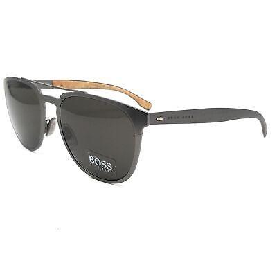 BOSS by Hugo Boss Sunglasses 0882S 0S5 Dark Ruthenium Men 57x19x145
