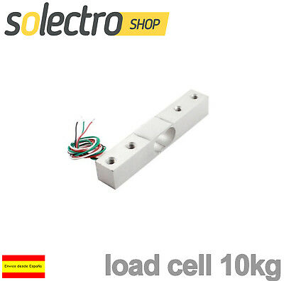 Celda de Carga 10kg Load Cell SCALE SENSOR PESO ARDUINO GALGA EXTENSOM...