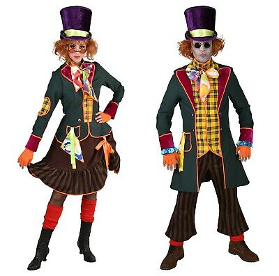 Deluxe Quality Mad Hatter Costume XS-XXL