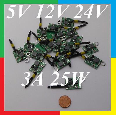 12V 24V 1A 25W Temperaturabhängige Lüftersteuerung Lüfterregelung PC CPU Fan A++