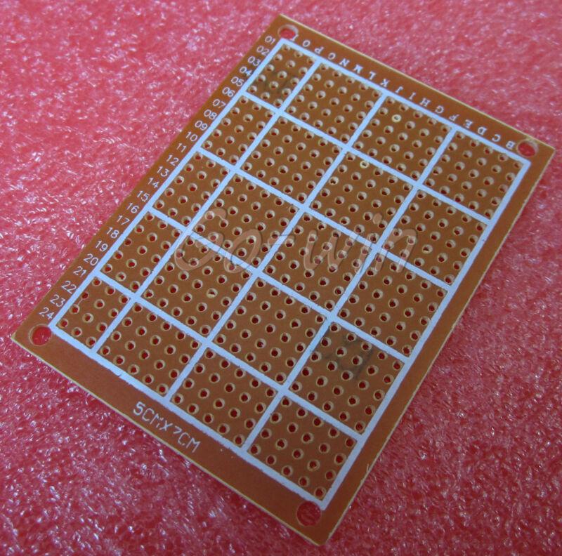 10PCS DIY Prototype Paper PCB Universal Board 5×7cm 5*7cm A3GU