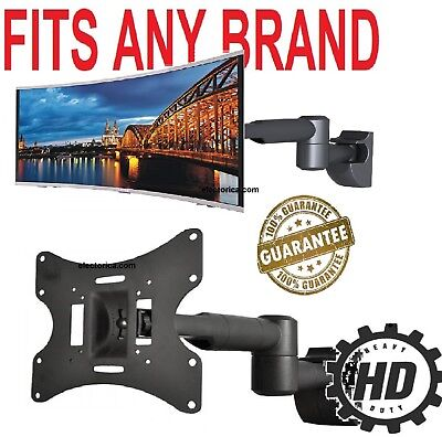 """Full Motion  TV Wall Mount Bracket Swivel For 23""""26""""27""""32""""37""""40""""42"""" inch LED LCD, used for sale  Canada"""