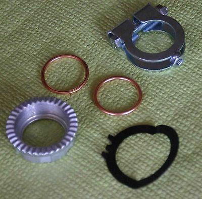 Simson Enduro S51 S70 S53 S83 Krümmermutter Set Auspuff Set Krümmerdichtung 313