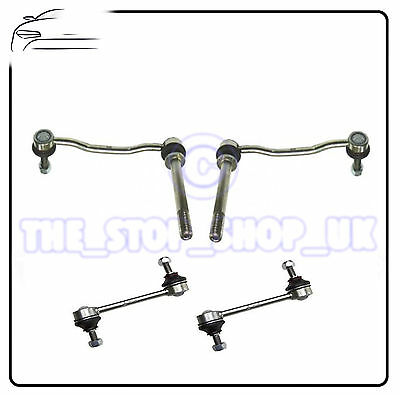 Peugeot 407 all Front  Rear Suspension Anti Roll Bar Drop Link Rods Bars