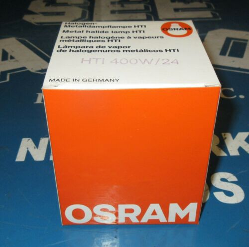 Osram HTI 400 W/24 400W Metal Halide Lamp 54083 New