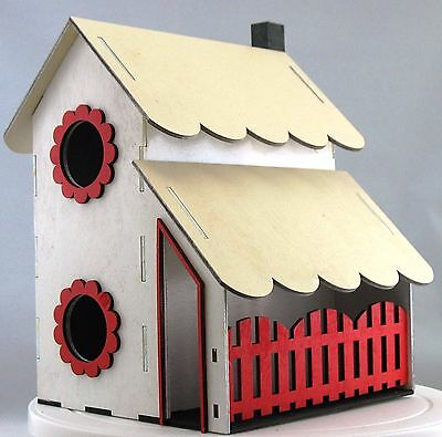 Two Story Bird House Kit