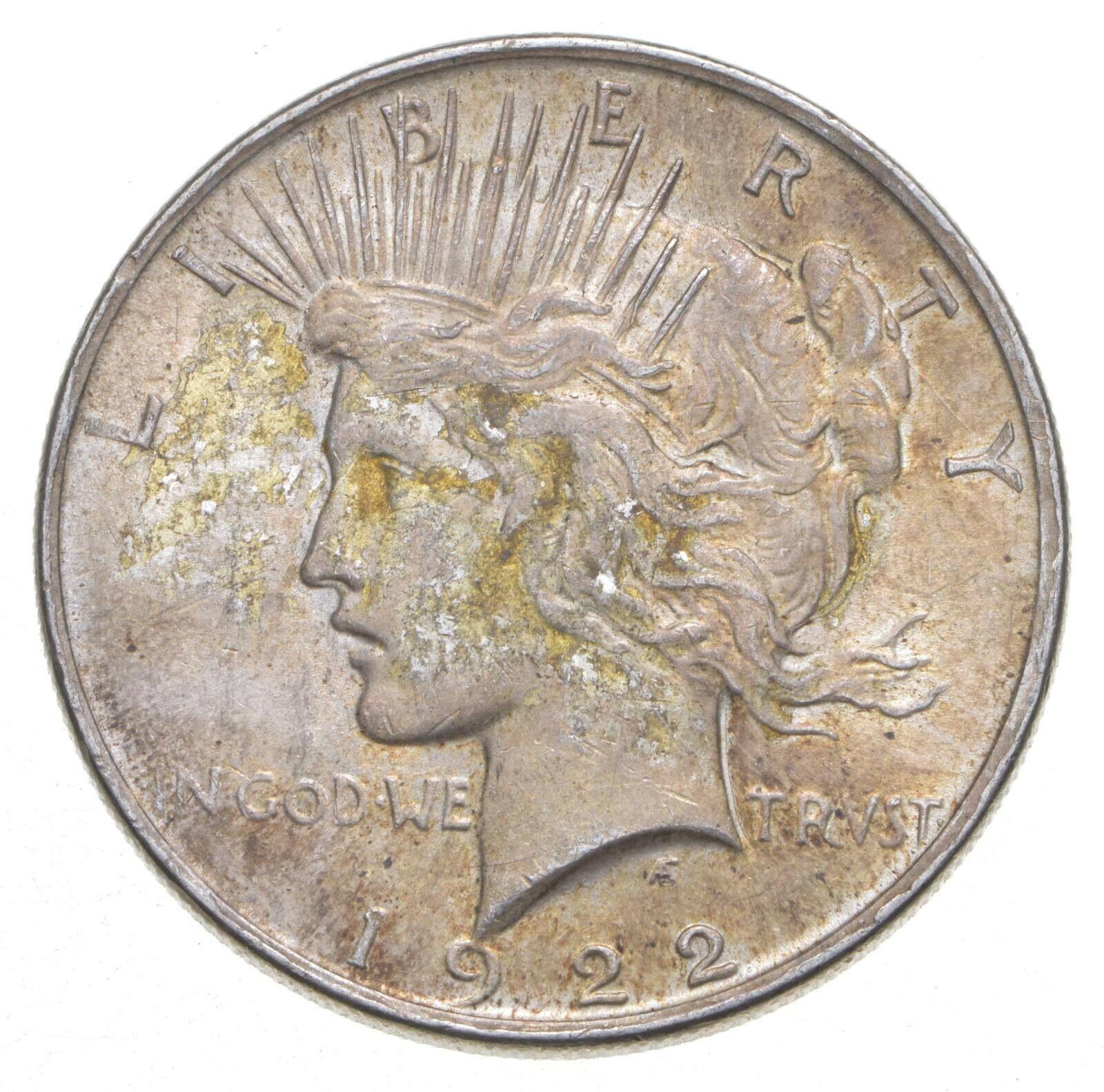 1922 Peace Silver Dollar - US Coin 154 - $24.72