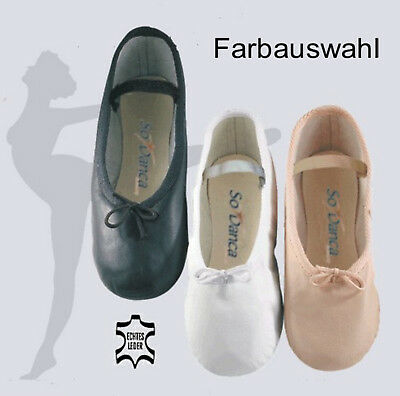So Danca BAE90 Ballett Schläppchen Ballettschuhe Leder ()