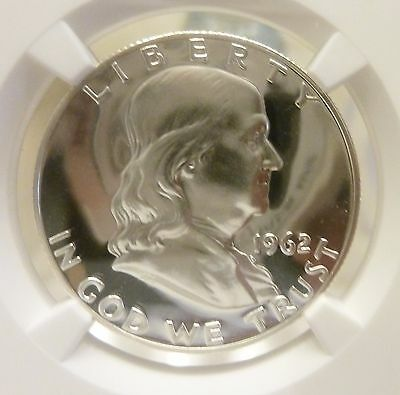 Click now to see the BUY IT NOW Price! 1962 FRANKLIN HALF DOLLAR NGC GRADED IMMACULATE DEEPEST ULTRA CAMEO PROOF 69