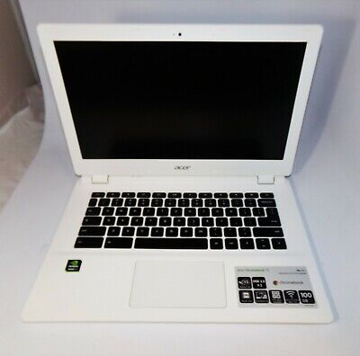 Acer Chromebook 13 White CB5-311-T9Y2 Tegra K1 2.1GHz 4GB RAM 16GB SSD MINT