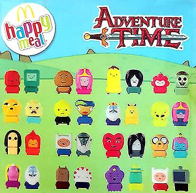 2016 McDonalds Happy Meal Toys ~ Cartoon Network Adventure Time ~ Twin Sets