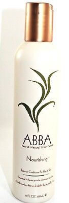 abba nourishing leave on conditioner 12 fl for hair & skin