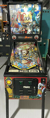 Hook Pinball Machine By Data East Coin Op Arcade LEDS