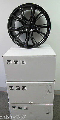 "20"" NEW JEEP GRAND CHEROKEE SRT8 20X10 STYLE SET OF GLOSS BLACK RIMS 9113"