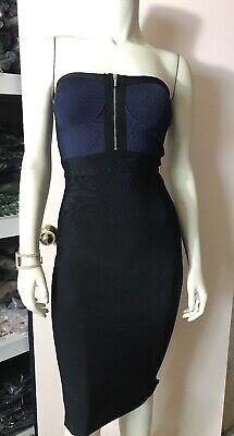 bebea Aaron Strap Zip Front Dress Size -
