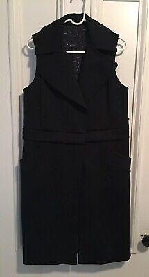 Lululemon Black Vest Jacket Wear 3 Ways! Size 8