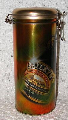 Bailey's Irish Cream Decorative Tin 1997 - Made in Ireland