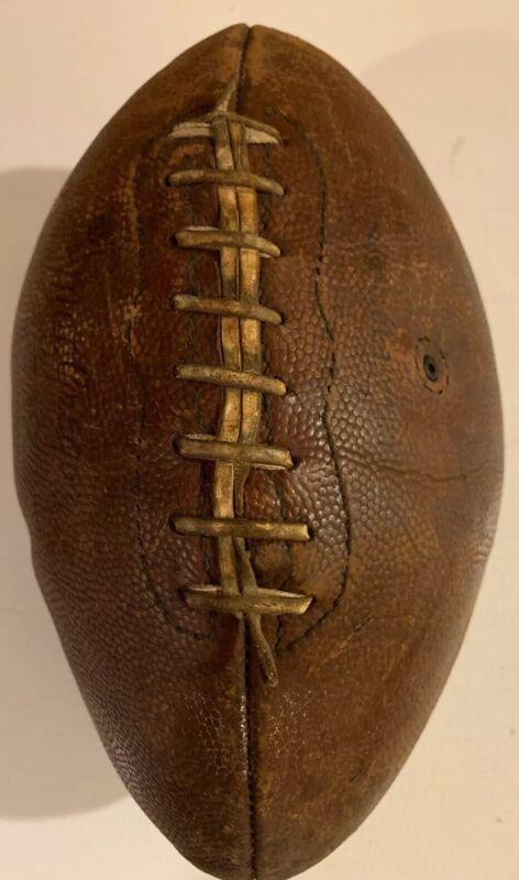 Vintage MacGregor FJ8 Junior Official Football Leather Pigskin NFL